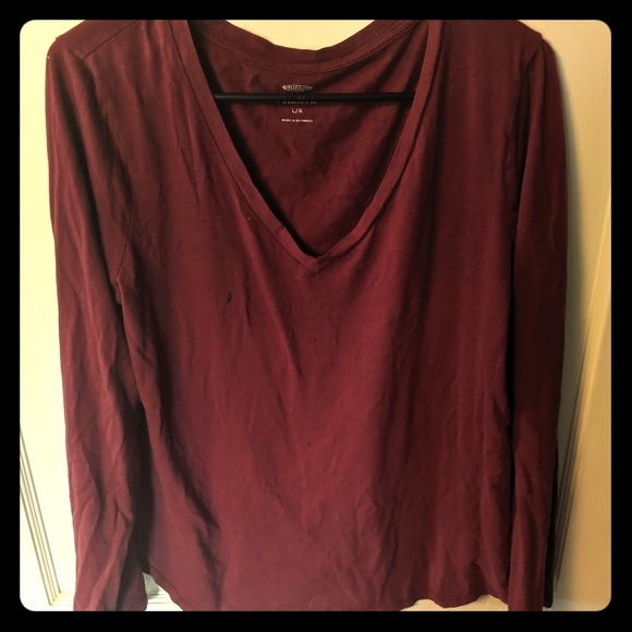 b861ffdd10f9 Old Navy Tops | Relaxed Fit Long Sleeve T Shirt | Poshmark
